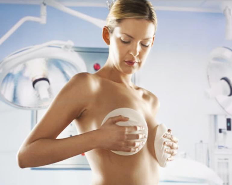 Пластическая операция по подтяжке груди